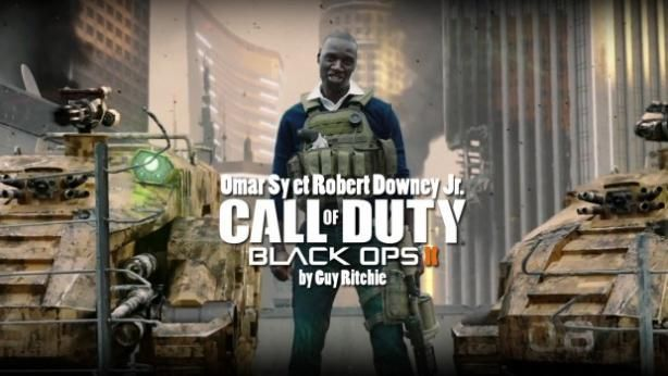 Call Of Duty - Black Ops 2 : avec Omar SY et Robert Downey Jr.